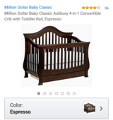 Million dollar baby crib in Evansville, Indiana