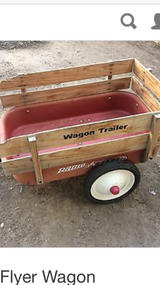 Radio flayer wagon trailer in Aurora, Illinois