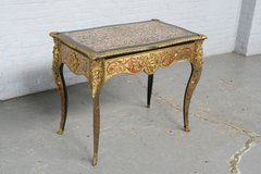 Desk Boulle France Mahogany 1860 (Ref.nr. 1832) in Ramstein, Germany