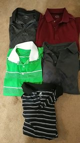 polo/golf shirts size M in Kingwood, Texas