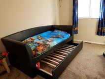 Twin bed with trundle in Colorado Springs, Colorado