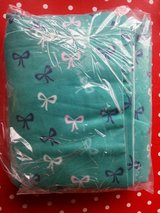 NEW!!! Flannel Bow Teal Green in Ramstein, Germany