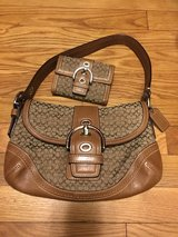 Authentic Coach Purse & Wallet in Fairfax, Virginia