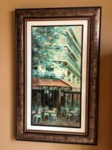 Painting - Outdoor Dining Scene Paris in San Clemente, California