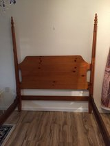 Head board and footboard for Queen bed in Camp Lejeune, North Carolina