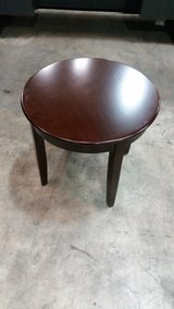Round Veneer Occasional Table in Cary, North Carolina