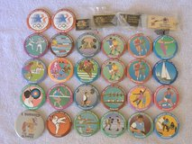 1984 LA OLYMPICS BUTTONS & Keychain Lot in 29 Palms, California