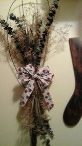 Antique Rug Beater Wreath Converted Into Hanging Wall display NEW  By Crafter in Chicago, Illinois