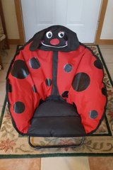 Cute folding lady bug chair in Ottawa, Illinois