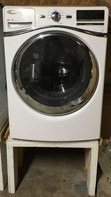 White Whirlpool Frontload Washer and Dryer in San Diego, California