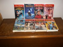 8 Older Walt Disney VHS Movies in Fort Campbell, Kentucky