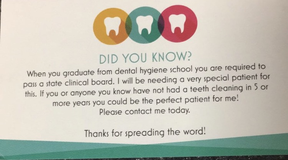 Free dental cleaning in Houston, Texas