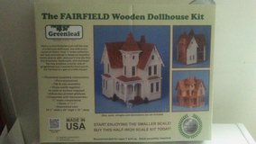 Fair field wooden Doll house kit brand new in its box. in Hinesville, Georgia