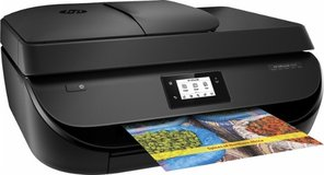 HP - OfficeJet 4650 Wireless All-In-One Instant Ink Ready Printer - Black in Yucca Valley, California