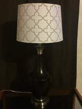 Lamp with shade in Macon, Georgia