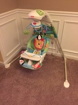 Fisher Price Electric swing in Columbus, Georgia