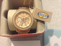 Fossil  ROSE GOLD Womens Watch ES3003 NEW IN BOX BEAUTIFUL in Honolulu, Hawaii