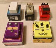 Guitar effects pedals in Fort Drum, New York