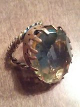 Vintage brass adjustable ring in Coldspring, Texas