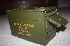 Vintage Metal Ammo Boxes .30 Caliber in Glendale Heights, Illinois