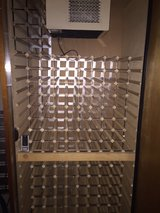 Vino Temp Wine Cellar, Holds over 300 bottles of wine, with Wine Mate Cooler in Beaufort, South Carolina