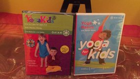 Brand New Yoga Dvds for kids age 3-6 in Morris, Illinois
