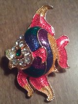 Gorgeous fish brooch in Coldspring, Texas