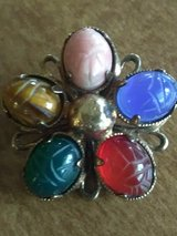 Antique star scarab brooch in Coldspring, Texas