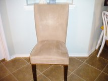 Parsons Chair/ Suede Dining Chair in Kingwood, Texas