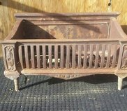Antique Cast Iron Fireplace Grate in Yucca Valley, California