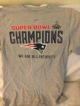 SUPER BOWL 49 WE ARE ALL PATRIOTS T- SHIRT  SIZE MEDIUM USED GREAT SHAPE in Okinawa, Japan