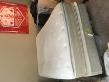 Full sized mattress set in Temecula, California