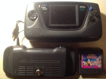 SEGA GameGear with PowerBack and game in Yucca Valley, California