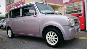 $3000 SUZUKI LAPIN PINK AND WHITE 2 TONE COLOR YELLOW PLATE WITH NEW JCI AND STANDARD WARRANTY!! in Okinawa, Japan