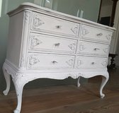 Baroque / chippendale style Chest of Drawers/Dresser. Shabby Chic vintage in Ramstein, Germany