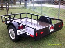 good used 5x8 utility trailer in Alvin, Texas