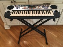 Yamaha PSR-160 Keyboard and Stand in Glendale Heights, Illinois
