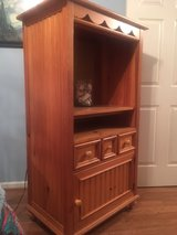 SOLID WOOD ENTERTAINMENT CENTER in Fort Campbell, Kentucky