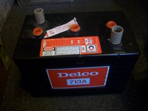 New Vintage Delco 6 volt dry battery for OLD CAR TRUCK BOAT etc in Bolingbrook, Illinois