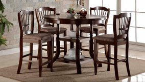 BRAND NEW Pub Table with 4 Chairs in Camp Lejeune, North Carolina