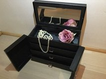 Black Jewelry / Make-up Box in Ramstein, Germany