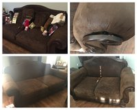 couch and loveseat in Lawton, Oklahoma