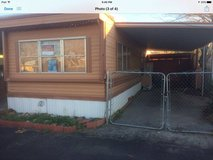 Mobile home for Sale mobile park JT  2bd 1 bath partially furnished in 29 Palms, California