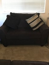 couch and love seat w/ ottoman in Fairfield, California