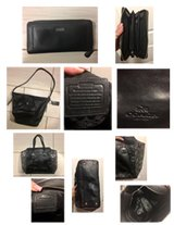 2 Authentic Black Coach Purses and Wallet in Lawton, Oklahoma