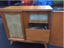 Record Player Cabinet in Naperville, Illinois