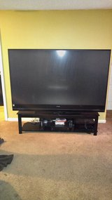 Mitsubishi WD82642 82-Inch 3D DLP Home Cinema HDTV (2012 Model) with stand in Hinesville, Georgia