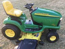 "JOHN DEERE LT190 tractor 18hp. KAWASAKI motor 48"" deck, hydro. trans. in Chicago, Illinois"