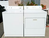 WHIRLPOOL WASHER AND GAS DRYER SET in Vista, California
