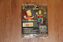 Simpsons Movie Bart figure in Okinawa, Japan